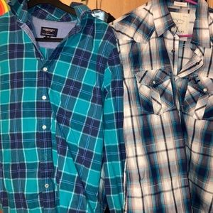 AE size med button downs